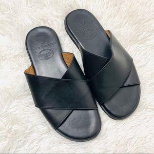 Allen Edmonds Horween Crisscross Leather Sandals